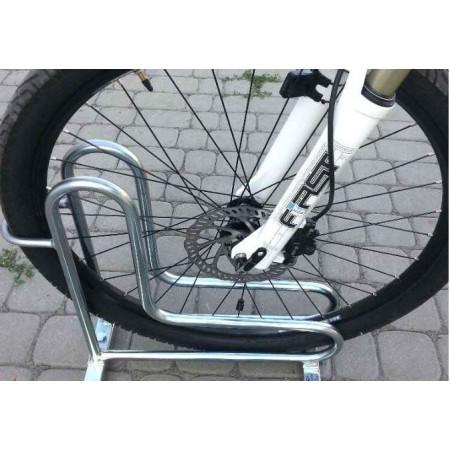 Stojak na rowery RAD-3 dwustronny Krajowy Stojaki na rowery - 4store.pl