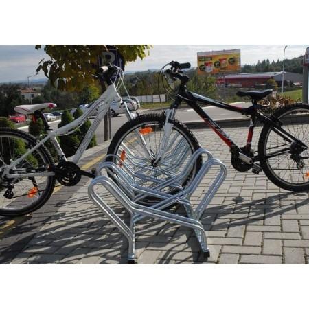 Stojak na rowery CROSS-4 dwustronny Krajowy Stojaki na rowery - 4store.pl