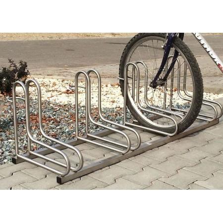 Stojak na rowery RAD-4 , stal nierdzewna Krajowy Stojaki na rowery - 4store.pl
