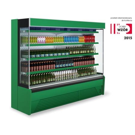Regał chłodniczy BALI 1.0 z agregatem wewnętrznym Igloo Regały chłodnicze z agregatem wewnętrznym - 4store.pl