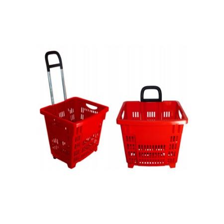 Koszyk zakupowy 55 L, na kółkach Damix Koszyki ręczne i na kółkach - 4store.pl