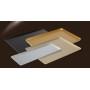 Taca 60x40cm, na ciasta, 4 ranty (1 lub 2 cm), kolor czarny, anodowana, tłoczona, aluminiowa, cukiernicza. Kra01 Tace na ciasta